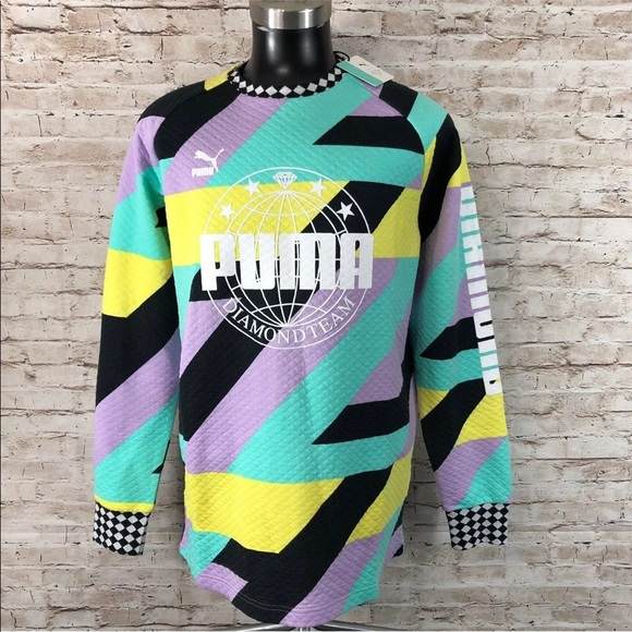 Puma Other - Puma X Diamond Crew Limited Abstract Mult Sizes